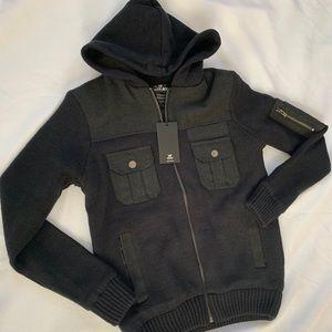 Men's Jacket! Color Black